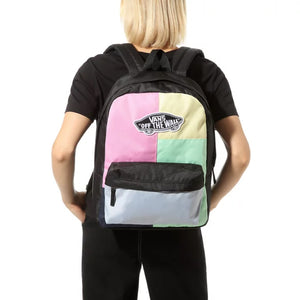 Bag Vans Realm Checkwork Backpack In Multicolor - Simons Sportswear