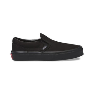 Preschool Kids Vans Classic Slip-On Shoes Skate Shoe In Black - Simons Sportswear