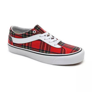 Van's - Plaid Bold Ni (Red/Plaid) - Simons Sportswear