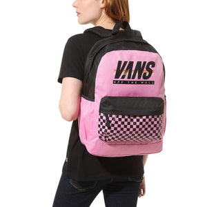 Bag Vans Sporty Realm Backpack In Fuchsia Pink - Simons Sportswear
