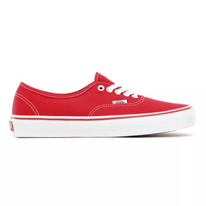 Mens Vans Authentic Aura Shift Skate Shoe In Red - Simons Sportswear