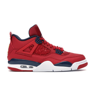 "Mens Air Jordan 4 Retro ""FIBA"" Sneaker In Red - Simons Sportswear"
