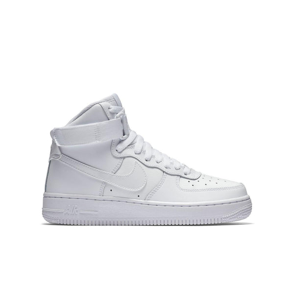 chaussures de séparation 284b4 ca469 Big Kids Nike Air Force One High Af1 Sneaker In White