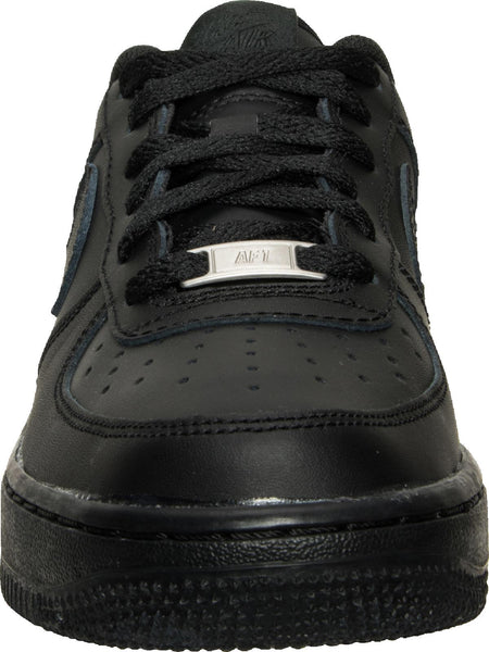 da8d9f675391e5 Big Kids Nike Air Force One Low Af1 Gs Sneaker In Black - Simons Sportswear