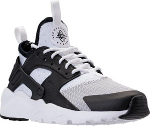 Big Kids Nike Air Huarache Run Ultra Gs Sneaker In White Black - Simons Sportswear