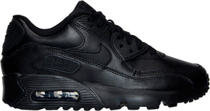 Big Kids Nike Air Max 90 Running Shoe In Black