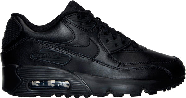 wholesale dealer 24cac d6d99 Big Kids Nike Air Max 90 Running Shoe In Black