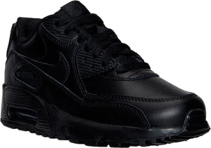 Big Kids Nike Air Max 90 Running Shoe In Black - Simons Sportswear