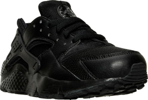 Big Kids Nike Hurache Run Gs Sneaker In Black