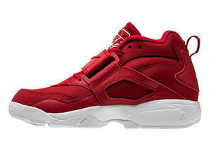 Mens Nike Air Diamond Turf Sneaker In Gym Red White