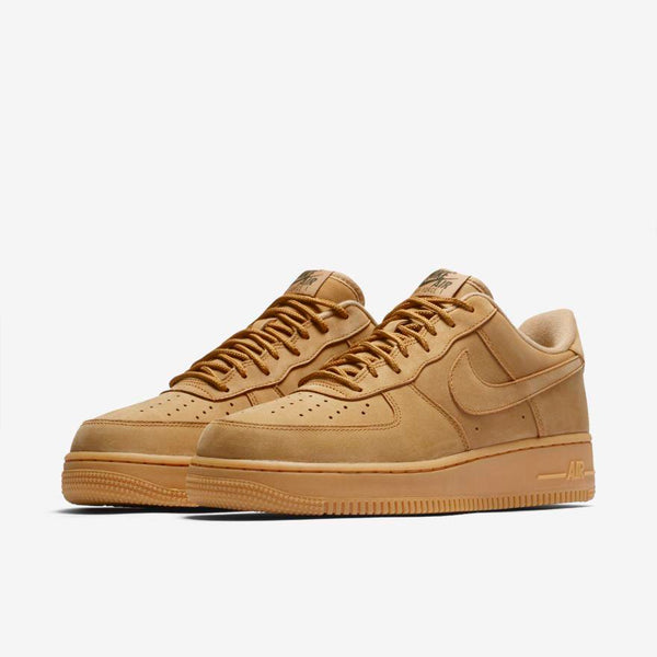 be53a16bdf2 Mens Nike Air Force 1 Low Af1 Wb Suede Sneaker In Wheat Flax Gum - Simons  Sportswear