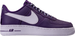 Mens Nike Air Force 1 Low Lv8 Nba Pack Sneaker In Court Purple White - Simons Sportswear