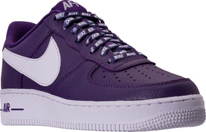 Mens Nike Air Force 1 Low Lv8 Nba Pack Sneaker In Court Purple White