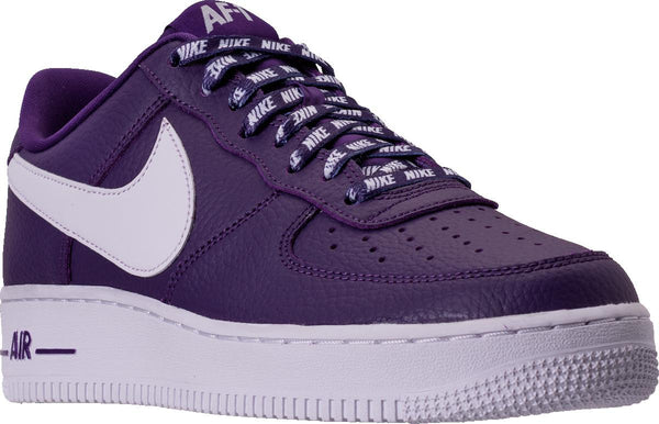 new concept 285c8 076ec Mens Nike Air Force 1 Low Lv8 Nba Pack Sneaker In Court Purple White