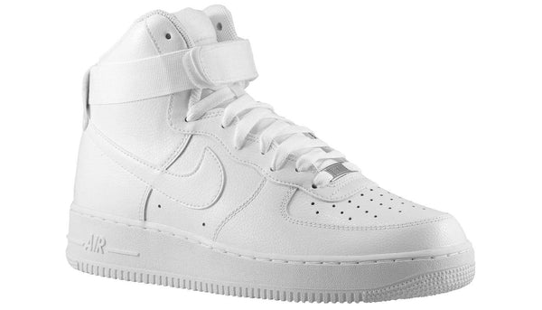 separation shoes 6e5a4 1e03e Mens Nike Air Force One High Af1 Sneaker In White