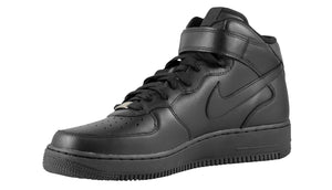 Mens Nike Air Force One Mid Af1 Sneaker In Black