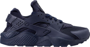 Mens Nike Air Huarache Running Shoe In Midnight Navy