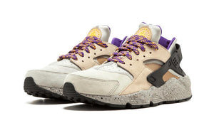 Mens Nike Air Huarache Run Premium Running Shoe In Linen Golden Beige