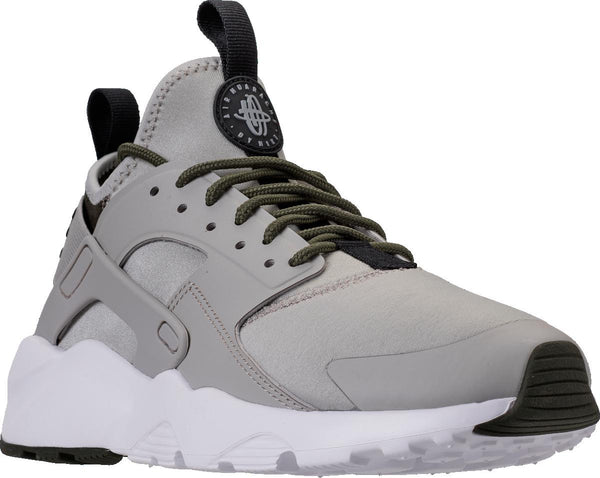 71c9193eefc60 Mens Nike Air Huarache Run Ultra Sneaker In Cool Grey Cargo Khaki - Simons  Sportswear