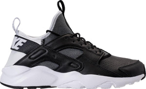 Mens Nike Air Huarache Run Ultra Se Running Shoe In Black Black White - Simons Sportswear