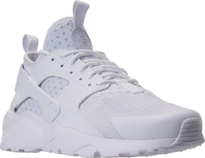 Mens Nike Air Huarache Run Ultra Running Shoe In White