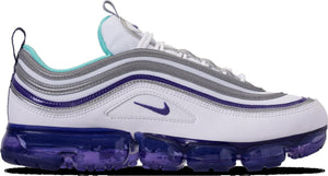 Mens Nike Air Vapormax 97 Sneaker In Aqua Varsity Purple