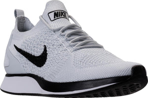 Mens Nike Air Zoom Mariah Flyknit Racer Running Shoe In Pure Platinum White - Simons Sportswear