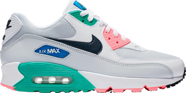 timeless design f29f3 ae74a Mens Nike Nike Air Max 90 Essential Running Shoe In Watermelon Pure Platinum