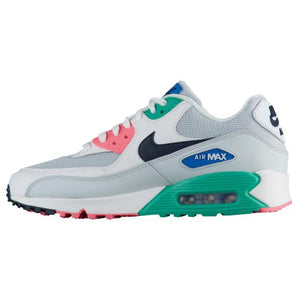 Mens Nike Nike Air Max 90 Essential Running Shoe In Watermelon Pure Platinum - Simons Sportswear