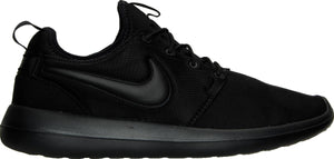 Mens Nike Nike Roshe Two Running Shoe In Black - Simons Sportswear