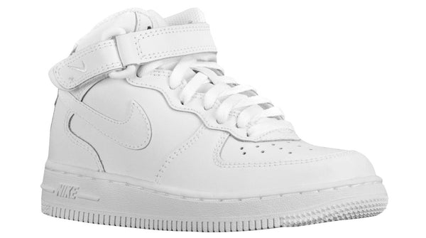 buy popular d3df8 4c55e Preschool Kids Nike Air Force One Mid Af1 Ps Sneaker In White