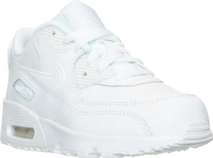 Preschool Kids Nike Air Max 90 Ps Running Shoe In White - Simons Sportswear