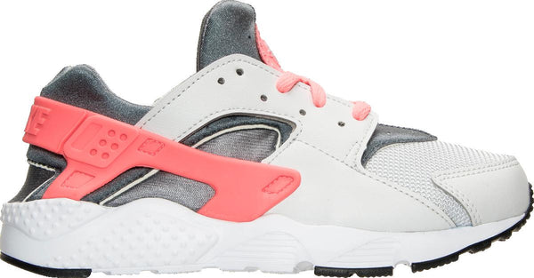 6c1762bd9575 Preschool Kids Nike Huarache Run Ps Sneaker In Pure Platinum Lava Glow