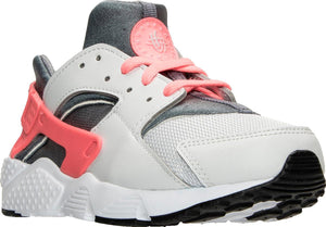 Preschool Kids Nike Huarache Run Ps Sneaker In Pure Platinum Lava Glow