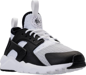 Preschool Kids Nike Huarache Run Ultra Ps Sneaker In White Black