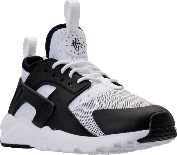 27c884ed2f3 Preschool Kids Nike Huarache Run Ultra Ps Sneaker In White Black - Simons  Sportswear