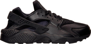 Womens Nike Air Huarache Run Running Shoe In Black