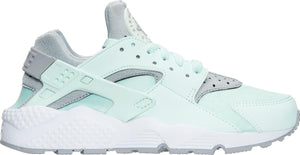 Womens Nike Air Huarache Run Running Shoe In Igloo Wolf Grey