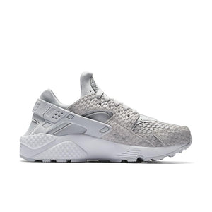 Womens Nike Air Huarache Run Premium Sneaker In Pure Platinum White