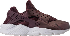 Womens Nike Air Huarache Run Premium Txt  Running Shoe In Mahogany White - Simons Sportswear