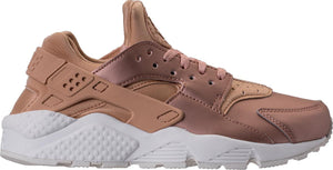Womens Nike Air Huarache Run Premium Txt Running Shoe In Metallic Bonze Dark Beige