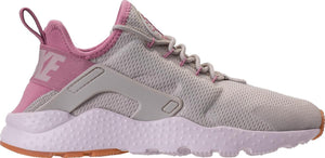 Womens Nike Air Huarache Run Ultra Sneaker In Light Bone Orchid