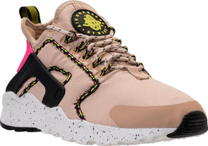 Womens Nike Air Huarache Run Ultra Si Running Shoe In Mushroom Summit White Pink