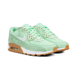 Womens Nike Air Max 90 Running Shoe In Fresh Mint Green Gum