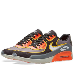 Womens Nike Air Max 90 Ultra 2 Si Running Shoe In Cool Grey Total Crimson