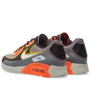 Womens Nike Air Max 90 Ultra 2 Si Running Shoe In Cool Grey Total Crimson - Simons Sportswear
