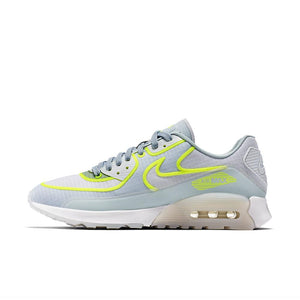 Womens Nike Air Max 90 Ultra 2 Si Running Shoe In White-Glacier Blue-Pure Platinum