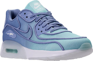 Womens Nike Air Max 90 Ultra 2.0 Br Sneaker In Still Blue Polar White - Simons Sportswear