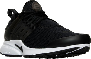Womens Nike Air Presto Running Shoe In Black White - Simons Sportswear