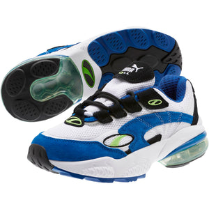 Big Kids Puma Cell Venom Sneaker In White Surf The Web - Simons Sportswear
